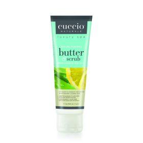 Cuccio Naturalé Butter Scrub White Limetta & Aloe Vera kuorintavoide 113 g