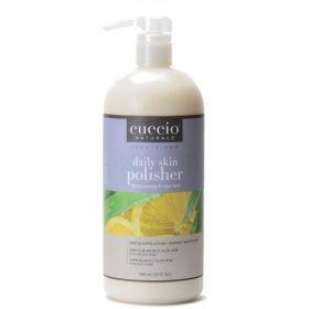Cuccio Naturalé Daily Skin Polisher White Limetta & Aloe Vera hellävarainen kuorinta 946 mL