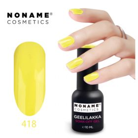 Noname Cosmetics #418 3-vaihe geelilakka 10 mL