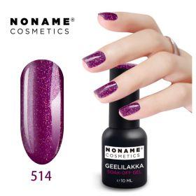 Noname Cosmetics #514 3-vaihe geelilakka 10 mL