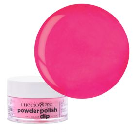 Cuccio Bright Neon Pink 2in1 Dip Powder Polish dippi- & akryylipuuteri 14 g