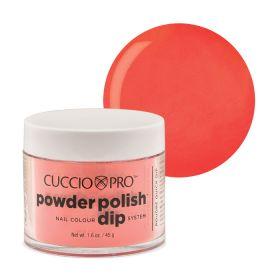 Cuccio Coral with Peach 2in1 Dip Powder Polish dippi- & akryylipuuteri 45 g