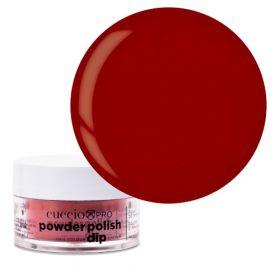Cuccio Strawberry Red 2in1 Dip Powder Polish dippi- & akryylipuuteri 14 g