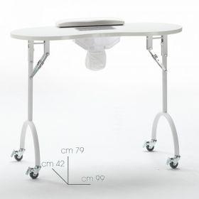 Xanitalia Liikutettava kynsipöytä imurilla