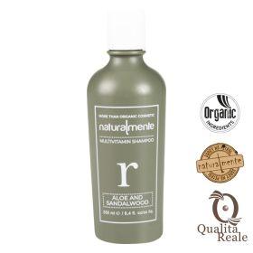 Naturalmente Aloe & Sandalwood Multivitamin tasapainottava shampoo 250 mL