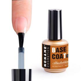 Noname Cosmetics Base Coat Aluslakka geelilakoille & Powder Polygeeleille 15 mL