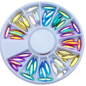 Noname Cosmetics Kirkasväriset kristalliveneet 60 kpl