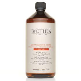 Byotea Neutral Massage Oil Coconut & Wheat Germ hierontaöljy 1000 mL