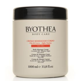 Byotea Neutral Massage Cream Coconut & Algae hierontavoide 1000 mL