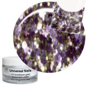 Universal Nails Space Shuttle Big Glitter UV glittergeeli 10 g