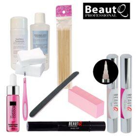BeautQ Professional Longlife Pen Geelilakkakynä-aloituspaketti ilman uunia