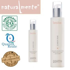 Naturalmente Breathe Sensitive Cleanser Cream puhdistusvoide 200 mL