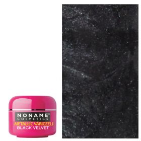 Noname Cosmetics Black Velvet Metallic UV geeli 5 g