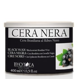 Byotea Black Brasilian Wax with Blackcurrant Mustaherukka lämminvaha purkissa 400 mL