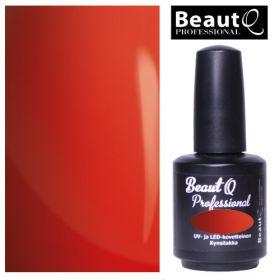 BeautQ Professional Deluxe Red Longlife geelilakka 12 mL