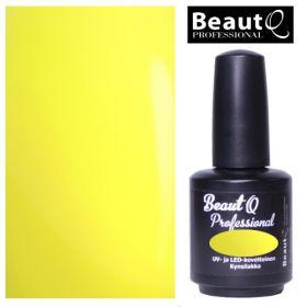 BeautQ Professional Neon Lemon Longlife geelilakka 12 mL