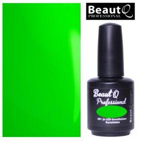 BeautQ Professional Neon Vihreä Longlife geelilakka 12 mL