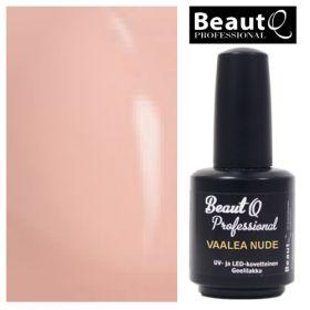 BeautQ Professional Vaalea Nude Longlife geelilakka 12 mL