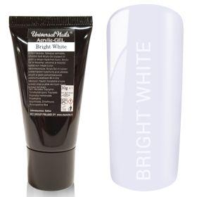 Universal Nails Acrylic-Gel UV/LED Bright White polygeeli 30 g