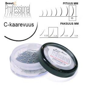 BeautQ Professional C-Pidennysripset 15 / 0.15 1 g
