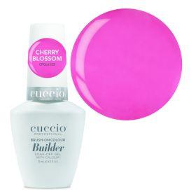 Cuccio Cherry Blossom Brush-On Colour Builder With Calcium LED/UV geeli 13 mL