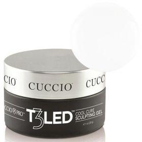 Cuccio White T3 LED/UV Self Leveling Cool Cure geeli 28 g