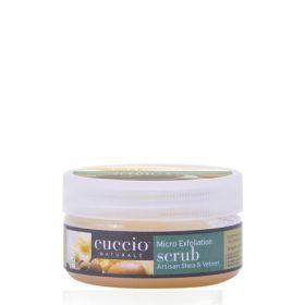 Cuccio Naturalé Artisan Shea & Vetiver Micro Exfoliation Scrub kuorintavoide 56 g