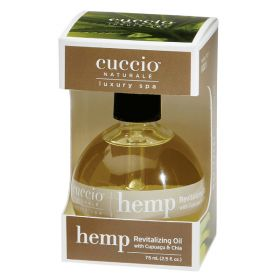 Cuccio Naturalé Hemp Revitalizing Oil Hoitoöljy 75 mL