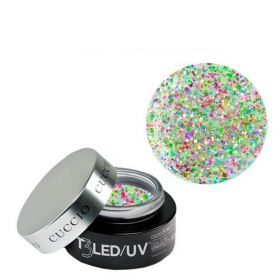 Cuccio Disco Bling T3 LED/UV Self Leveling Cool Cure geeli 28 g