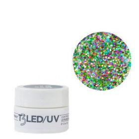 Cuccio Rainbow Bling T3 LED/UV Self Leveling Cool Cure geeli 7 g