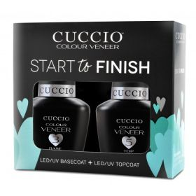 Cuccio Veneer Start to Finish kit Base + Top 2 x 13 mL