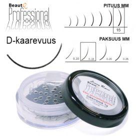 BeautQ Professional D-Pidennysripset 15 / 0.15 1 g