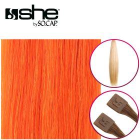 So Cap Suora Sinettihius Dark Orange 10 kpl 55-60 cm