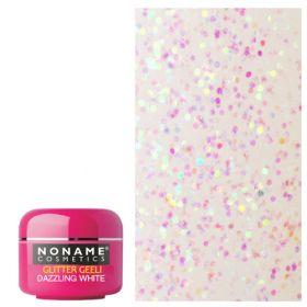Noname Cosmetics Dazzling White Glitter UV geeli 5 g
