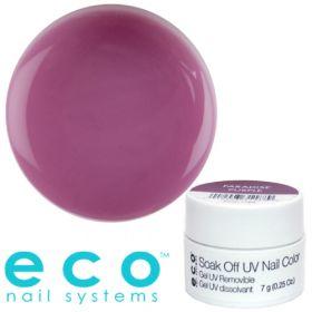 Eco Nail Systems Paradise purple Eco Soak Off geelilakka 7 g