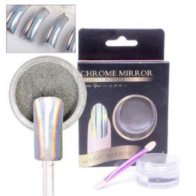 Noname Cosmetics Chrome Mirror Peilipuuteri hologrammi 5 g