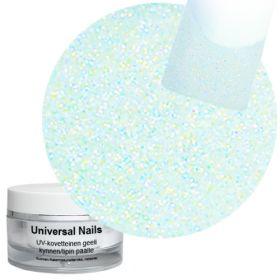 Universal Nails Sininen Sateenkaari UV glittergeeli 10 g