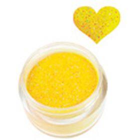 Sina Tumma Keltainen Glitter akryylipuuteri 5,1 g