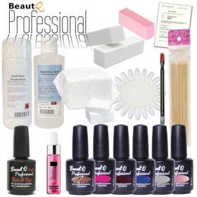 BeautQ Professional Geelilakka-aloituspaketti ilman uunia