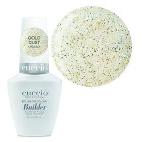 Cuccio Gold Dust Brush-On Colour Builder With Calcium LED/UV geeli 13 mL