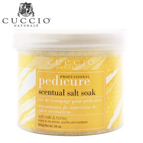 Cuccio Naturalé Scentual Salt Soak Milk & Honey jalkakylpysuola  822 g