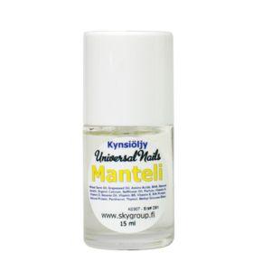 Universal Nails Manteli Tuoksuva Kynsinauhaöljy pensselillä 15 mL