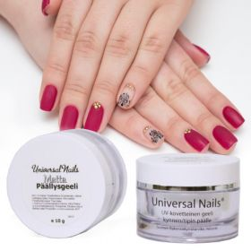Universal Nails Matta UV/LED päällysgeeli 10 g