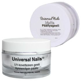 Universal Nails Matta UV/LED päällysgeeli 30 g