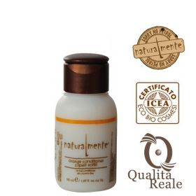 Naturalmente Orange hoitoaine hennoille hiuksille mini 50 mL