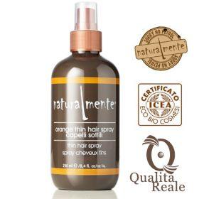 Naturalmente Orange Volume-Building Thin Hair Spray tuuheuttava suihke 250 mL