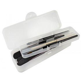 Universal Nails Utility Box Kaksiosainen Kotelo tarvikkeille