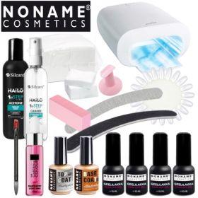 Noname Cosmetics 3-vaihe Geelilakka-aloituspaketti Promed UVL-36 S UV-uunilla