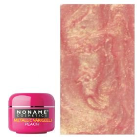 Noname Cosmetics Peach Metallic UV geeli 5 g