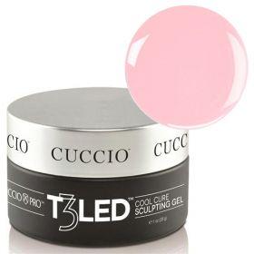 Cuccio Pink T3 LED/UV Self Leveling Cool Cure geeli 28 g